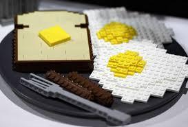 lego breakfast plate